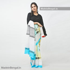 Seaside Beatles Saree