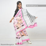 Pinky Beatles Cotton Saree