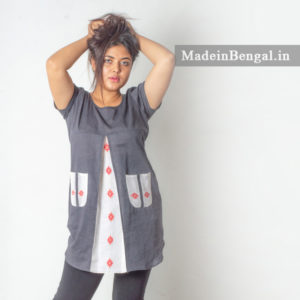 Dhakai Jamdani Cotton Top