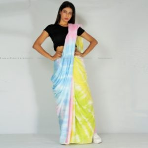 Candy Floss Soft Cotton Mul Saree