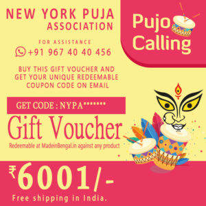 NEW YORK PUJA ASSOCIATION GV 6001