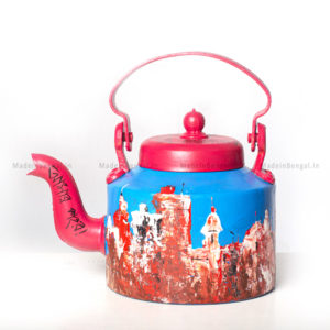Cityscape on Kettle