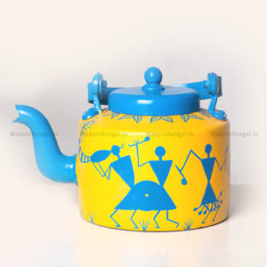 Warli Painting Kettle