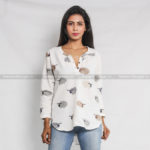 Shawn The Sheep Cotton Kurti Top